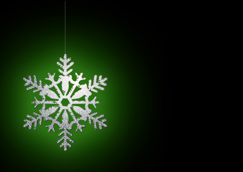 b2bcards corporate christmas eacrd ref:b2b-ecards-snowflakes-black-green-silver-321.jpg, Snowflakes, Black,Green,Silver