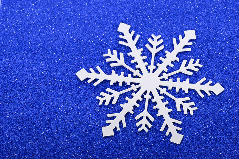 b2bcards corporate christmas eacrd ref:b2b-ecards-snowflakes-blue-503.jpg, Snowflakes, Blue