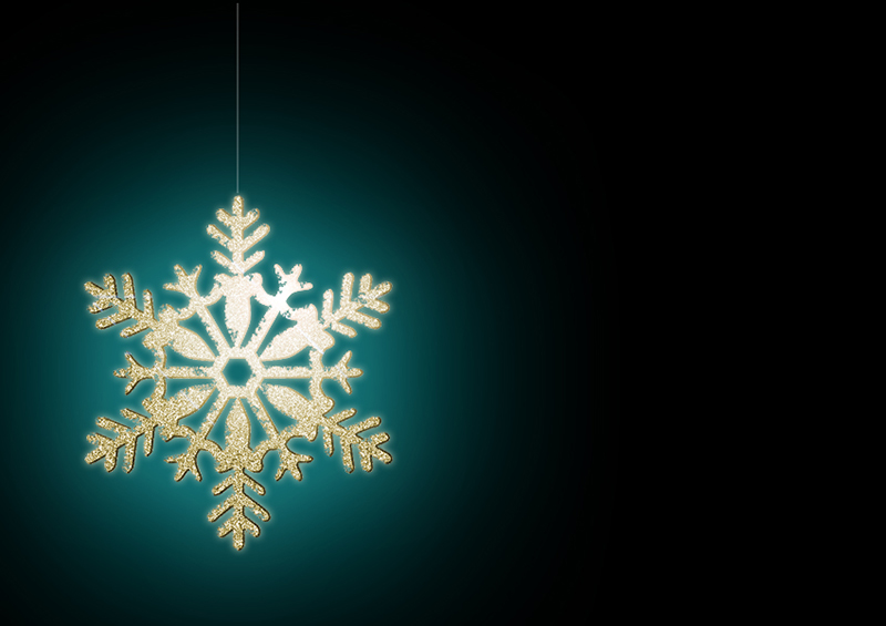 b2bcards corporate christmas eacrd ref:b2b-ecards-snowflakes-gold-teal-black-320.jpg, Snowflakes, Gold,Teal,Black