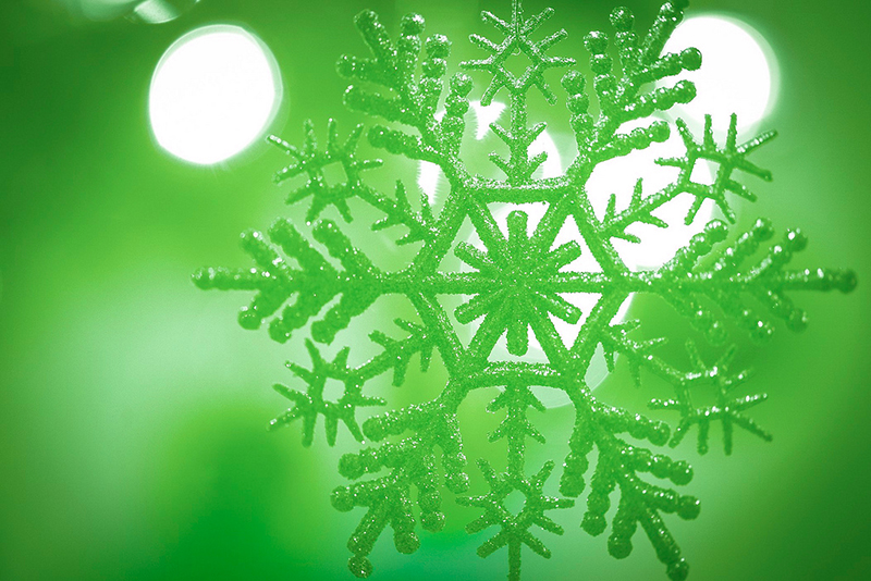 b2bcards corporate christmas eacrd ref:b2b-ecards-snowflakes-green-655.jpg, Snowflakes, Green