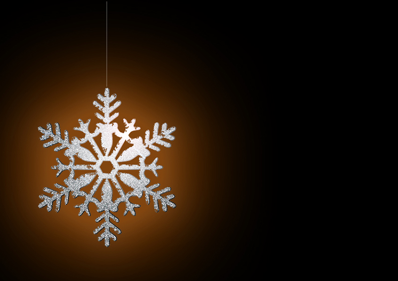 b2bcards corporate christmas eacrd ref:b2b-ecards-snowflakes-orange-silver-black-323.jpg, Snowflakes, Orange,Silver,Black