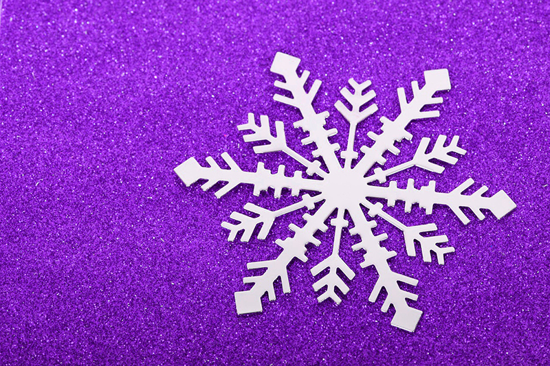 b2bcards corporate christmas eacrd ref:b2b-ecards-snowflakes-purple-504.jpg, Snowflakes, Purple