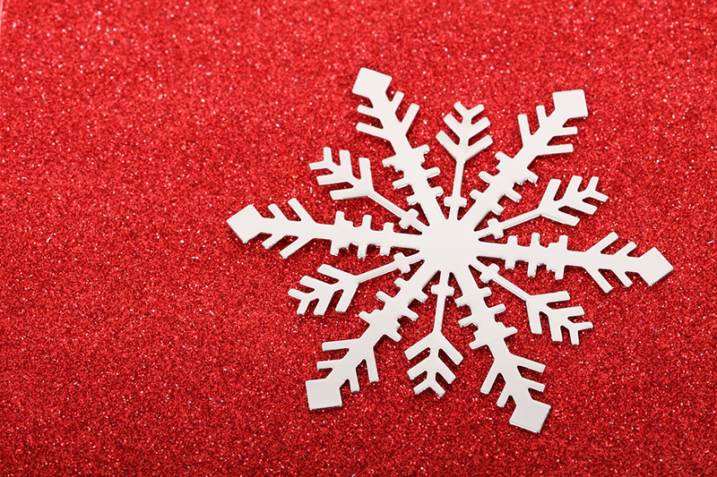 b2bcards corporate christmas eacrd ref:b2b-ecards-snowflakes-red-497.jpg, Snowflakes, Red