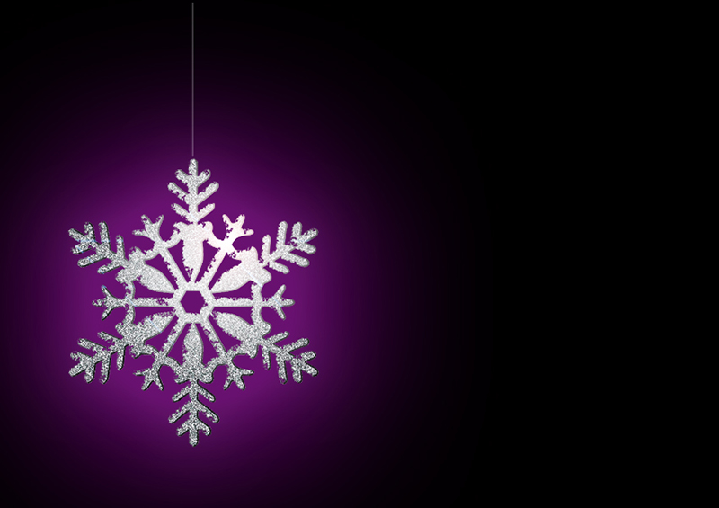 b2bcards corporate christmas eacrd ref:b2b-ecards-snowflakes-silver-purple-black-326.jpg, Snowflakes, Silver,Purple,Black