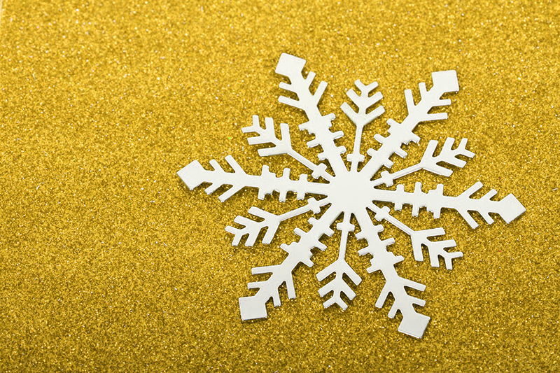 b2bcards corporate christmas eacrd ref:b2b-ecards-snowflakes-yellow-499.jpg, Snowflakes, Yellow