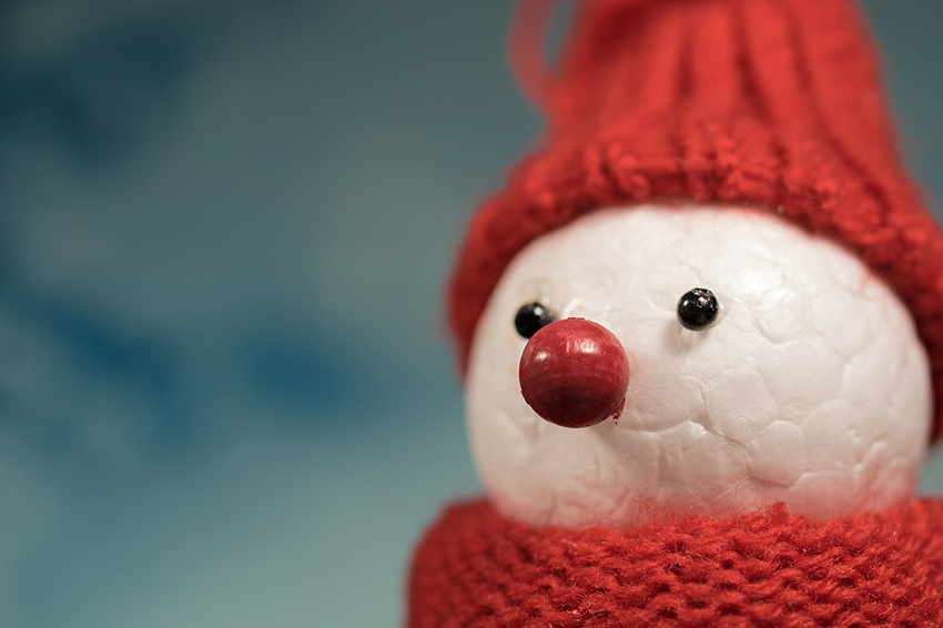 b2bcards corporate christmas eacrd ref:b2b-ecards-snowman-colours-839.jpg, Snowman, Colours