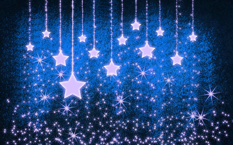 b2bcards corporate christmas eacrd ref:b2b-ecards-stars-blue-533.jpg, Stars, Blue
