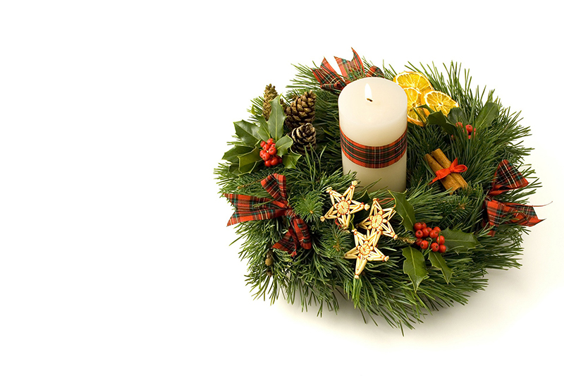 b2bcards corporate christmas eacrd ref:b2b-ecards-wreaths-candles-colours-344.jpg, Wreaths,Candles, Colours